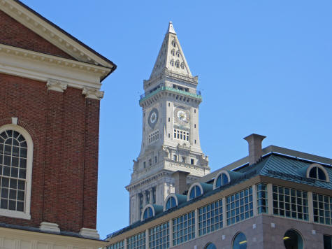 Custom House Tower in Boston Massachusetts